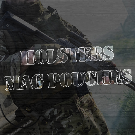 Holsters/Mag pouches/Plate Carriers