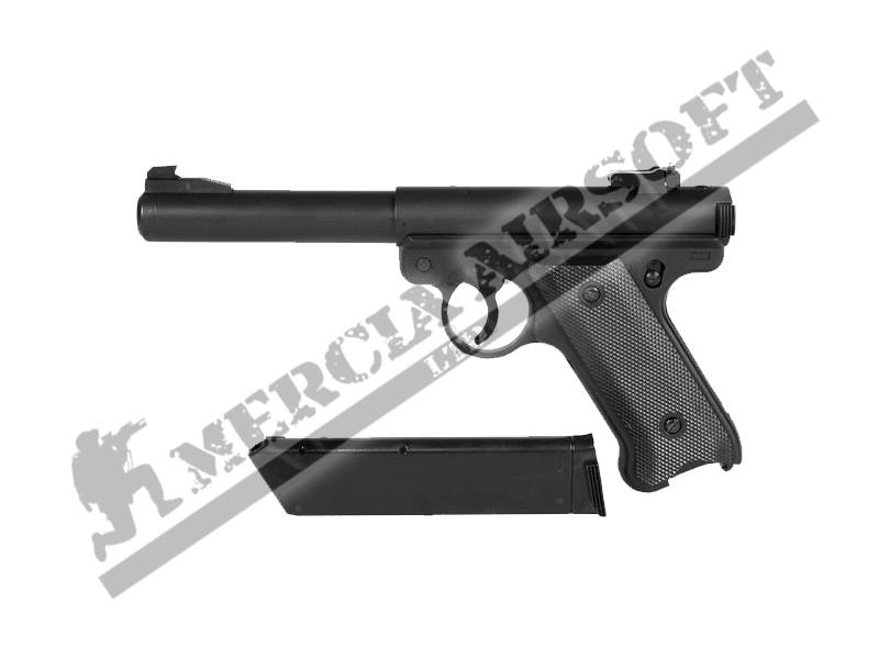 Kj Works Mk1 Ruger Non Blowback Gas Airsoft Pistol Mercia Airsoft
